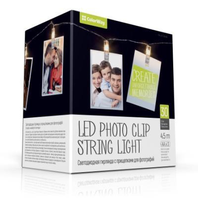 LED fotokolíčky ColorWay CW-LCP-30L45B