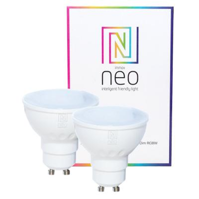 LED žárovka IMMAX Neo GU10 3,5W RGB 2ks