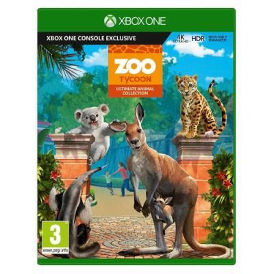 Hra MS Zoo Tycoon Ultimate Animal Collection