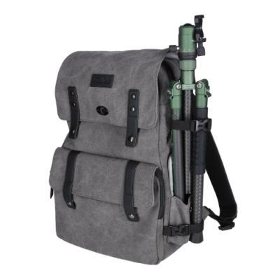 "Batoh Rollei Vintage Camera backpack 13"" šedý"