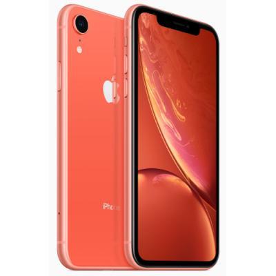 Mobilní telefon Apple iPhone XR 64GB růžový