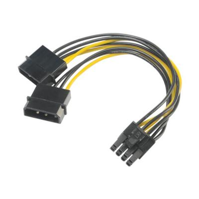 Redukce Akasa 4pin Molex na 8pin PCIe