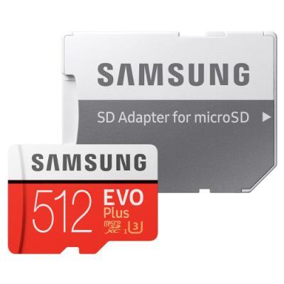 Paměťová karta Samsung EVO Plus Micro SDXC 512GB