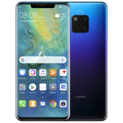 Mobilní telefon Huawei Mate 20 Pro fialovo-modrý