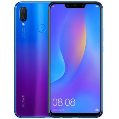 Mobilní telefon Huawei Nova 3i fialovo-modrý
