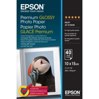 Fotopapír Epson Premium Glossy 10x15cm 40ks