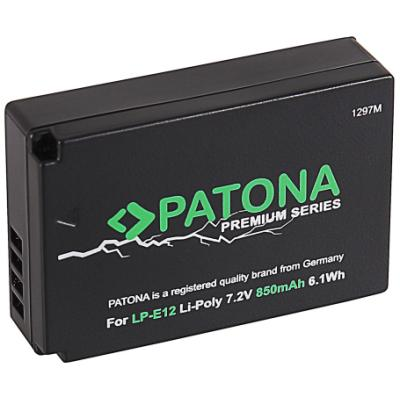 Baterie PATONA kompatibilní s Canon LP-E12