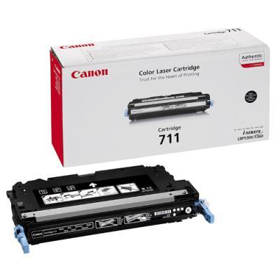Toner Canon 711Bk černý