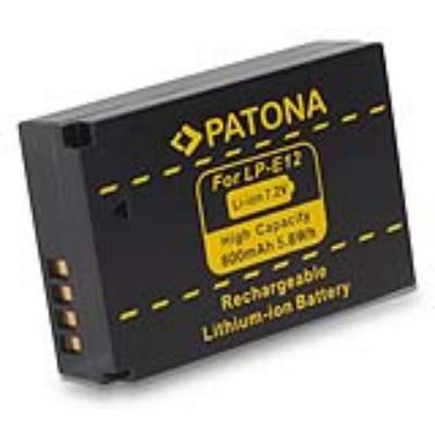 Baterie PATONA kompatibilní s Canon LPE12