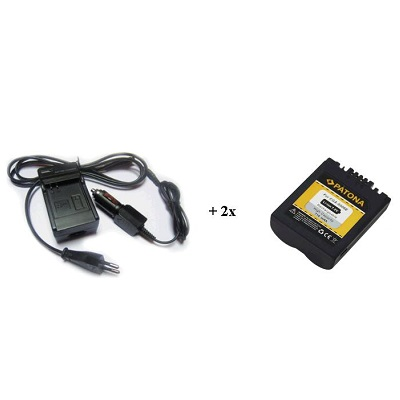 Nabíječka PATONA + 2 x baterie Panasonic CGA-S006E