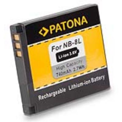 Baterie PATONA kompatibilní s Canon NB-8L