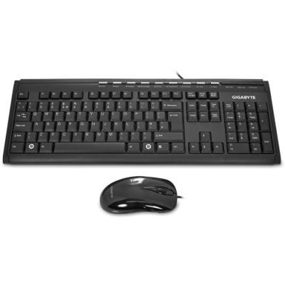 Set klávesnice a myši GIGABYTE KM6150 černý
