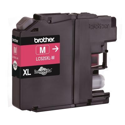 Inkoustová náplň Brother LC525XL-M červená