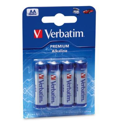 Baterie Verbatim AA alkalické 4ks
