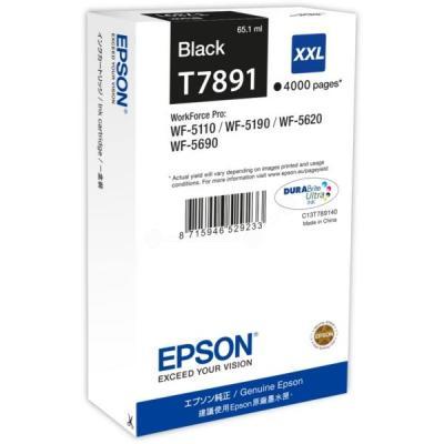Inkoustová náplň Epson T7891 XXL černá