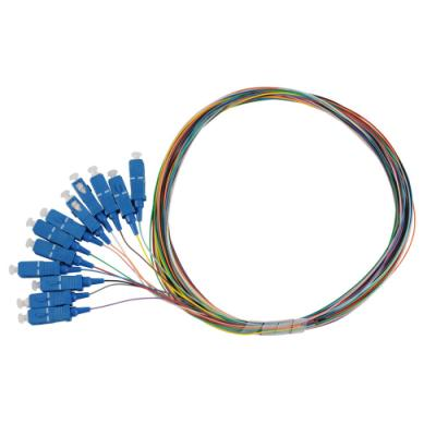 Optický kabel Solarix pigtail SC pc SM 09/125 12ks