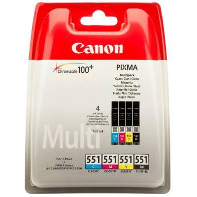 Inkoustová náplň Canon CLI-551 CMYK