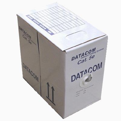 Síťový kabel UTP DATACOM cat.5e, 305m