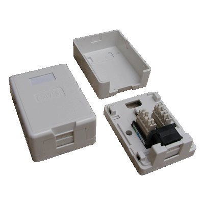 Datová zásuvka DATACOM UTP cat.5e 1x RJ45