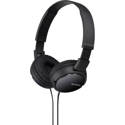 Sluchátka Sony MDRZX110 černá