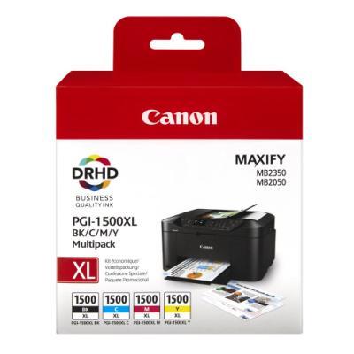 Inkoustová náplň Canon PGI-1500 XL CMYK