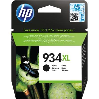 Inkoustová náplň HP 934XL (C2P23AE) černá