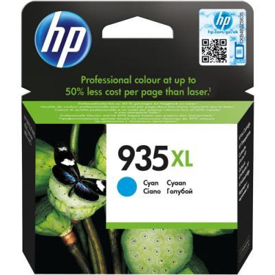 Inkoustová náplň HP 935XL (C2P24AE) modrá