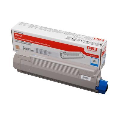 Toner OKI 44059211 modrý