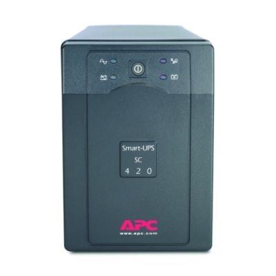 Záložní zdroj UPS APC Smart-UPS SC 420VA-1