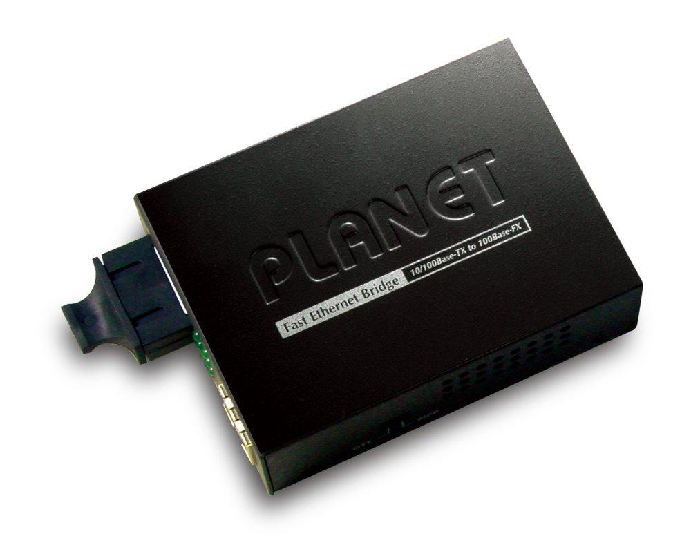 PLANET FT-802S15 opto konvertor 10/100Base-TX - 100Base-FX, SC, singlemode