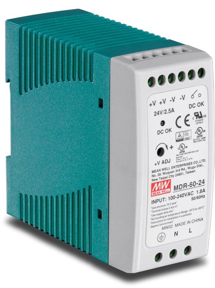 PLANET PWR-60-24 napájecí zdroj průmyslový, výstup 24V, 60W
