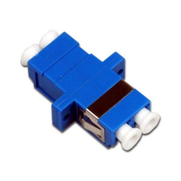 XtendLan LC-LC duplex adapter, SM, PC, modrý, do optických rozvaděčů