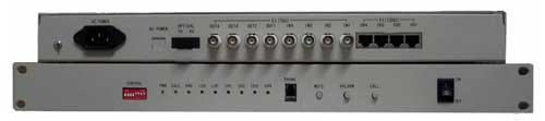 Multiplex, 4x E1+100BaseT, WDM, SC, 50km, SM