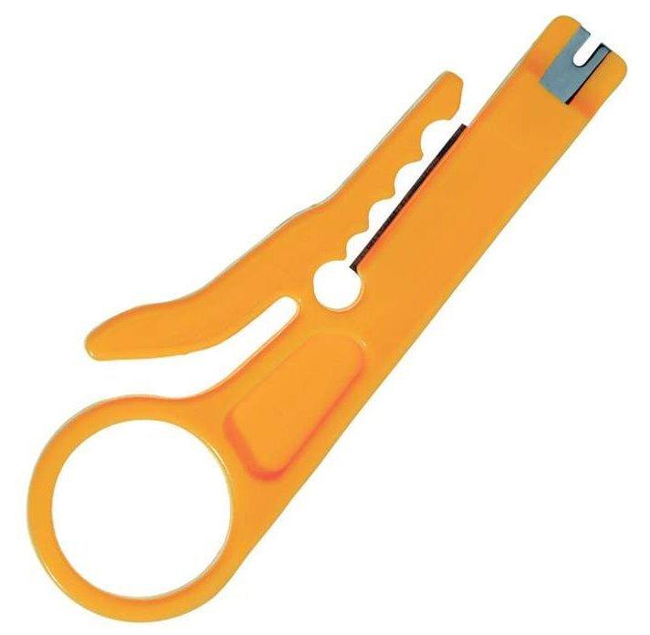 Odizolovávač kabelů, jednoduchý, na prst