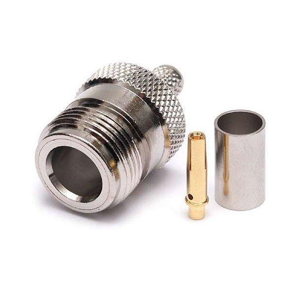 Konektor N(F) pro RF240 krimp