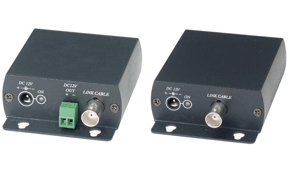 Slučovač video+audio, intereferenční filtr a zesilovač - v páru přijímač/vysílač