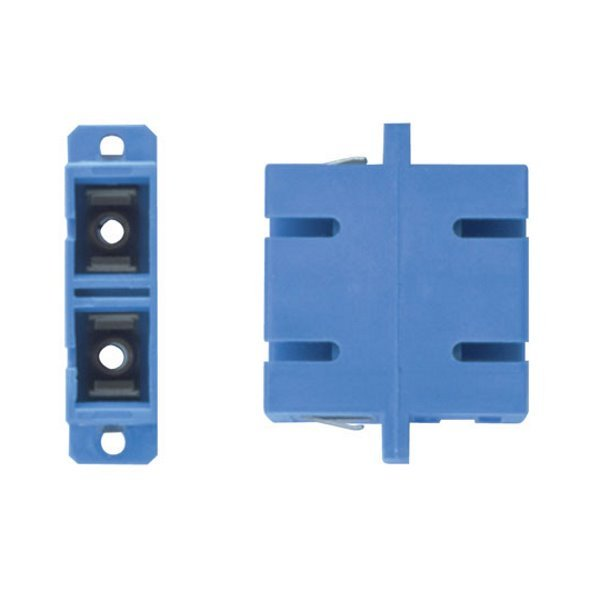 XtendLan SC-SC duplex adaptér SM, PC , modrý , do optických rozvaděčů