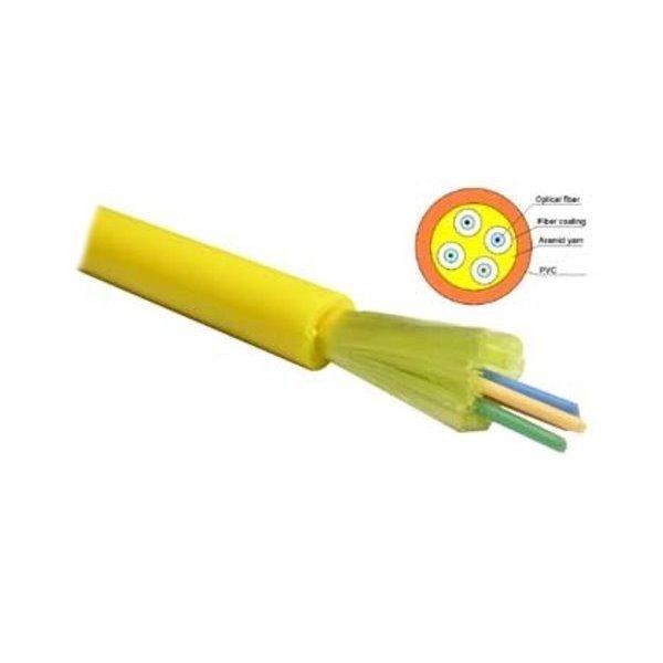 FO kabel, 9/125, 4c, breakout, těsná izolace, 500m