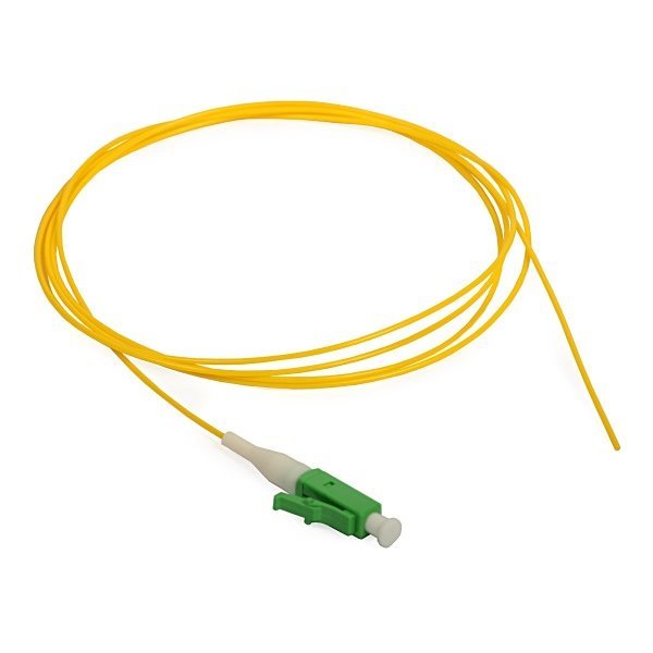 FO pigtail LC/APC, 9/125, 0,9mm, 10m