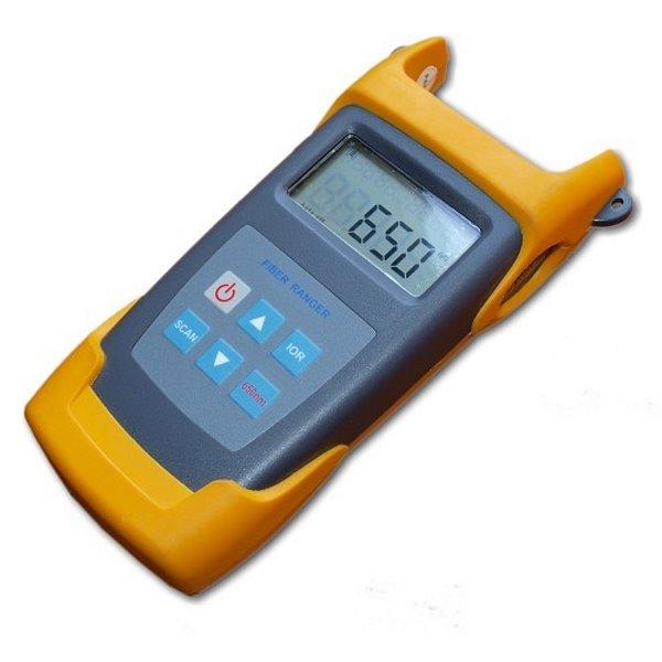 Ruční optický dálkoměr a detektor závad až do 60km, OTDR, 1550nm, VFL, singlmode