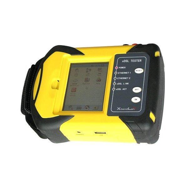 DM130V VDSL2/ADSL2+ tester, LCD touch screen, emulace modemu a služeb