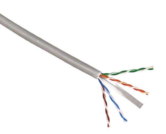 Kabel UTP, drát, 4pár, Cat 6, LS0H, XtendLan, Dca (balení 305m)