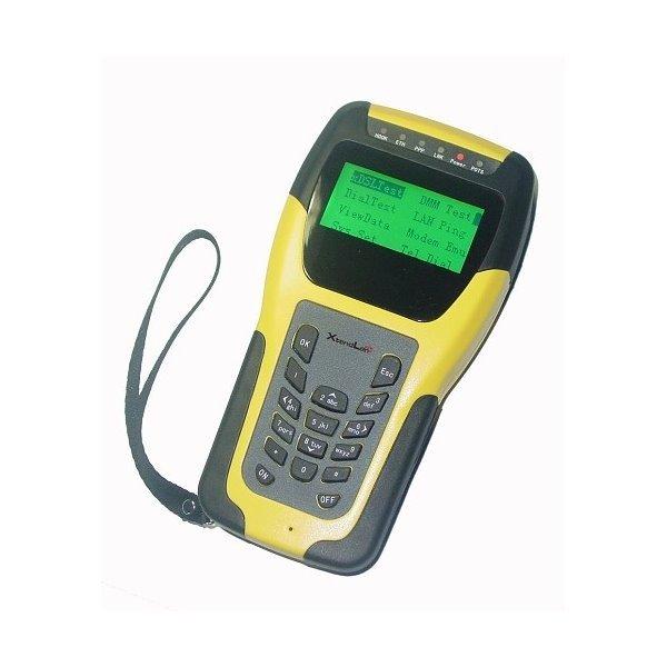 DM122V xDSL tester, emulace modemu, servisní diagnostika (VDSL2, ADSL2+/2, READSL).