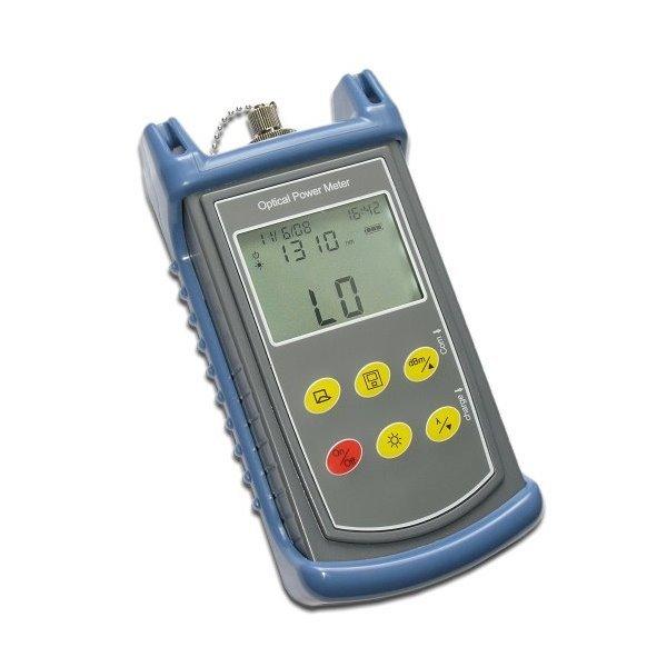 Optický měřič výkonu, SM/MM, +/-5%, paměť na 200 měření, USB pro stažení dat, FC/ST/SC/LC