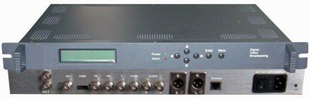 Kodér MPEG4/DVB  H.264, vstupy 1x HD-SDI, 1x HDMI, 1x CVBS, výstupy 1x ASI,  1x LAN
