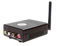 Bezdrátový přenos video+stereo audio, 5,8GHz, vysílač, 1 kanál, 16 frekvencí