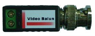 Balun pasivní pro AHD/HDCVI/HD-TVI/PAL do 1Mpix, miniaturní přímý, cena za 1ks