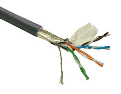 Kabel FTP, drát, 4pár, Cat 5e, PE venkovní, Planet Elite, Dca (balení 1km)