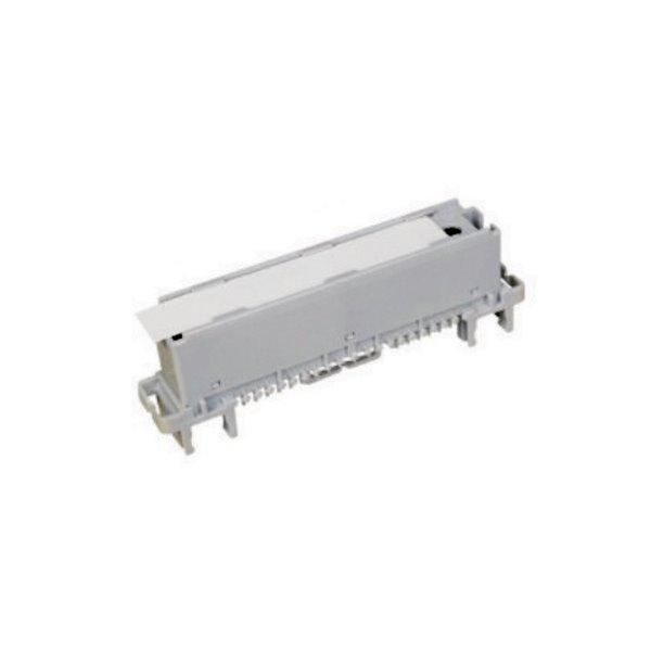 Prázdný modul/záslepka 10p, s profilem, instaluje se vedle modulů a slouží jako nosič popisky