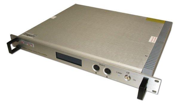 Optický předzesilovač, flat EDFA, C pásmo 1528-1564nm, 1 kanál, od -38dBm, zesílení 45dB